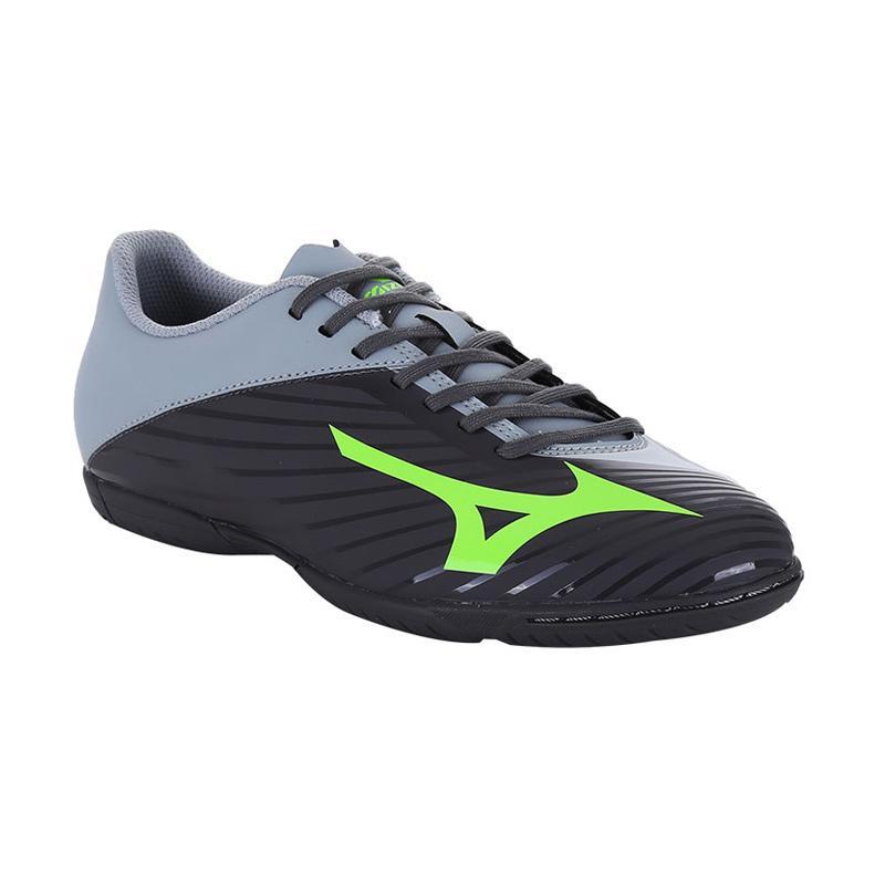harga Mizuno Basara 103 In Wide Sepatu Futsal - Black Grey P1GF176435  Blibli.com c2d4d211f0