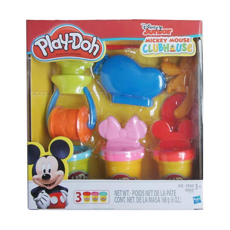 Play-Doh Mickey And Friends Tools Mainan Clay dan Dough