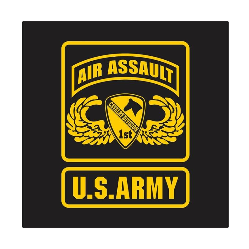 US Army 1st Cavalry Air Assault Wing Cutting Sticker
