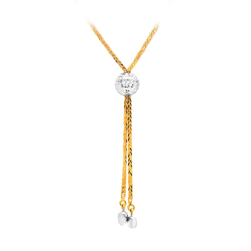 Kalung Emas Kadar 75 - Spread Gold Necklace