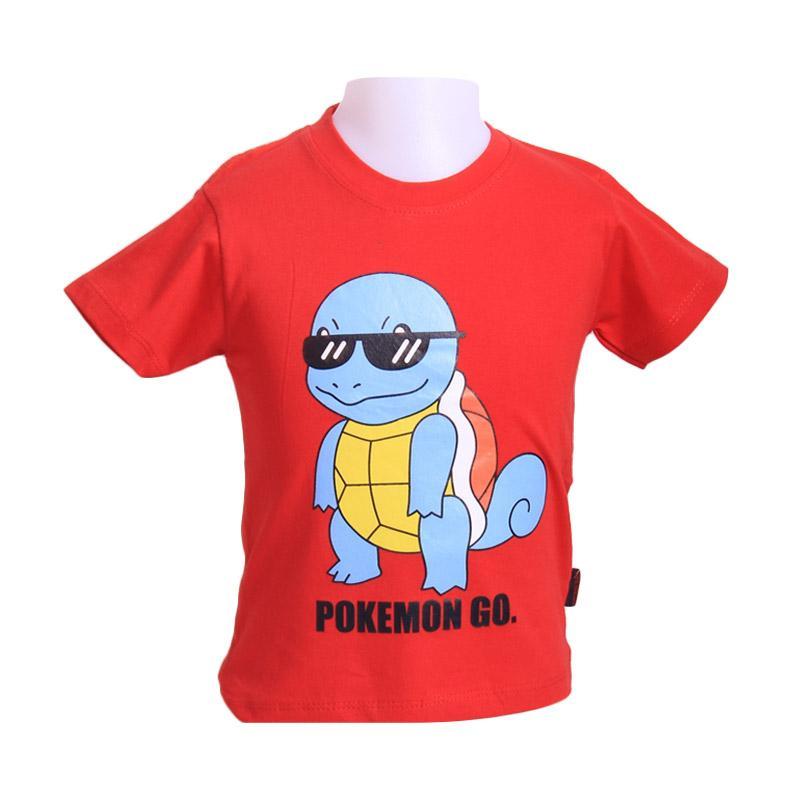 Chloe Babyshop F923 T-Shirt Squirfel Glasses - Red