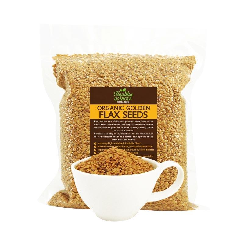 Healthy Corner Organic Golden Flaxseed [250 g]