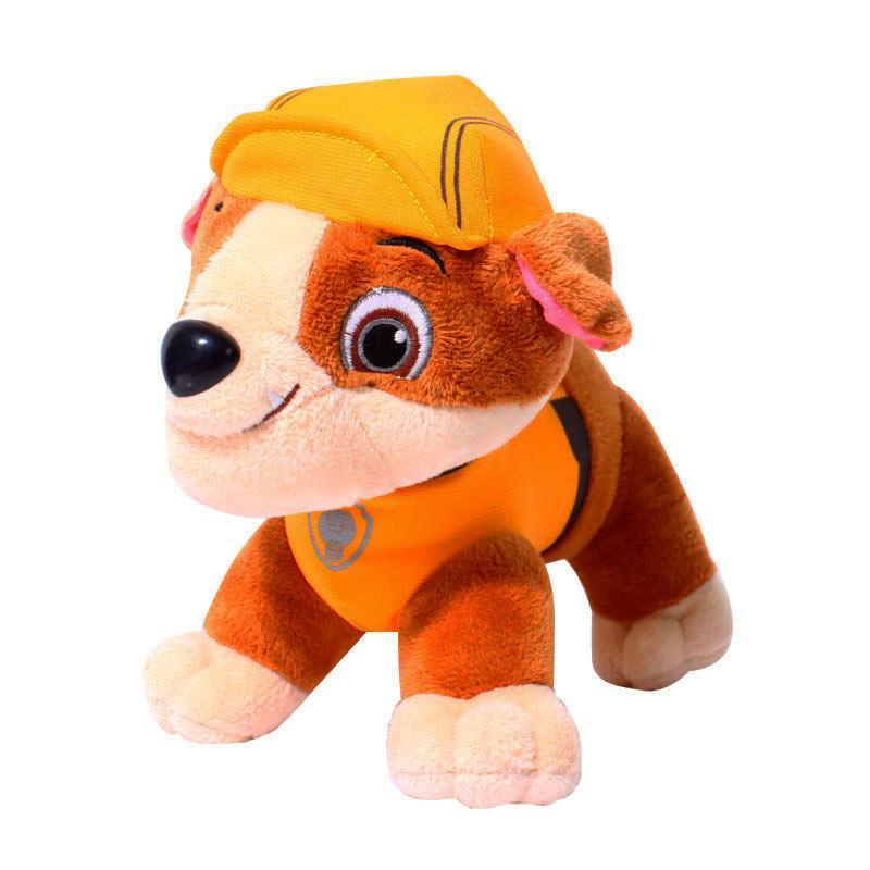 Istana Kado Dog Paw Patrol Rubble  Boneka - Kuning IKO00711