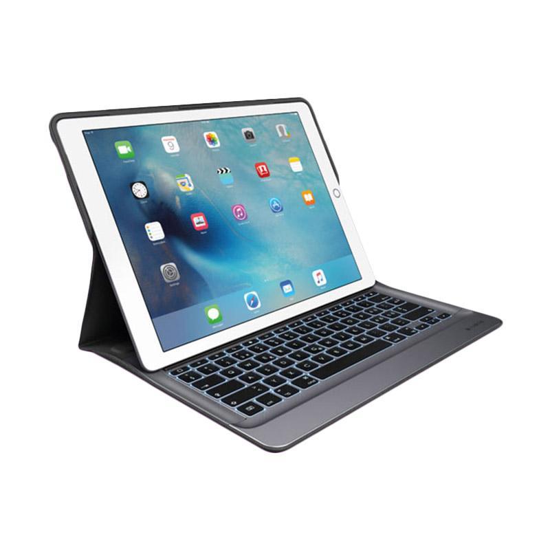 Logitech Create Backlit Keyboard for iPad Pro 12.9 Inch - Black