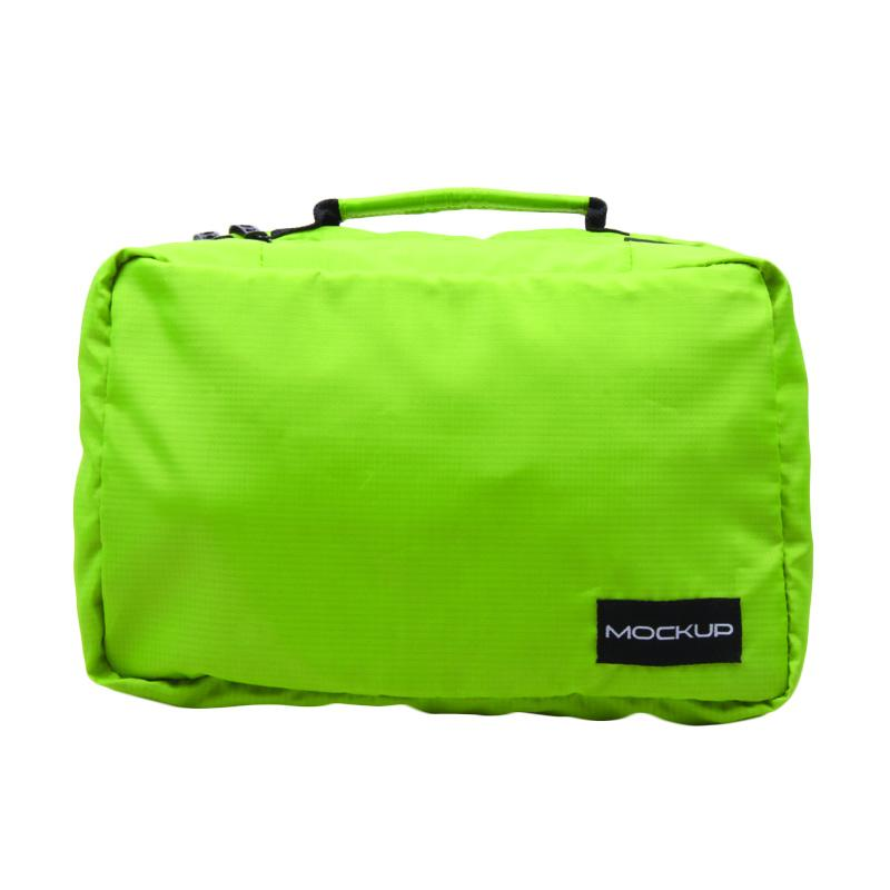 Mock Up PTL.12 Family Size Folding Toiletries Bag - Green