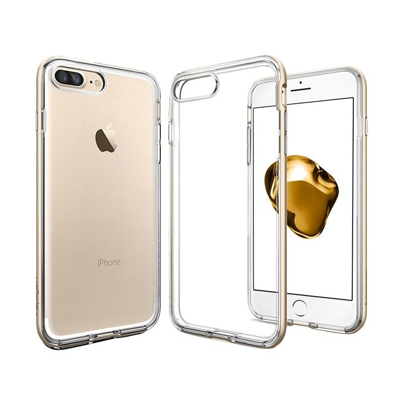 Spigen Neo Hybrid Crystal Casing for iPhone 7 Plus - Champagne Gold