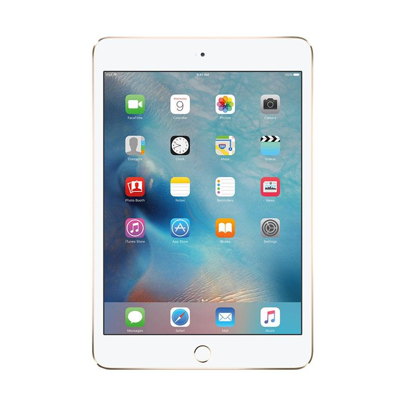harga Apple iPad Mini 4 16 GB Tablet - Gold [Garansi Resmi/WiFi + Cellular] Blibli.com