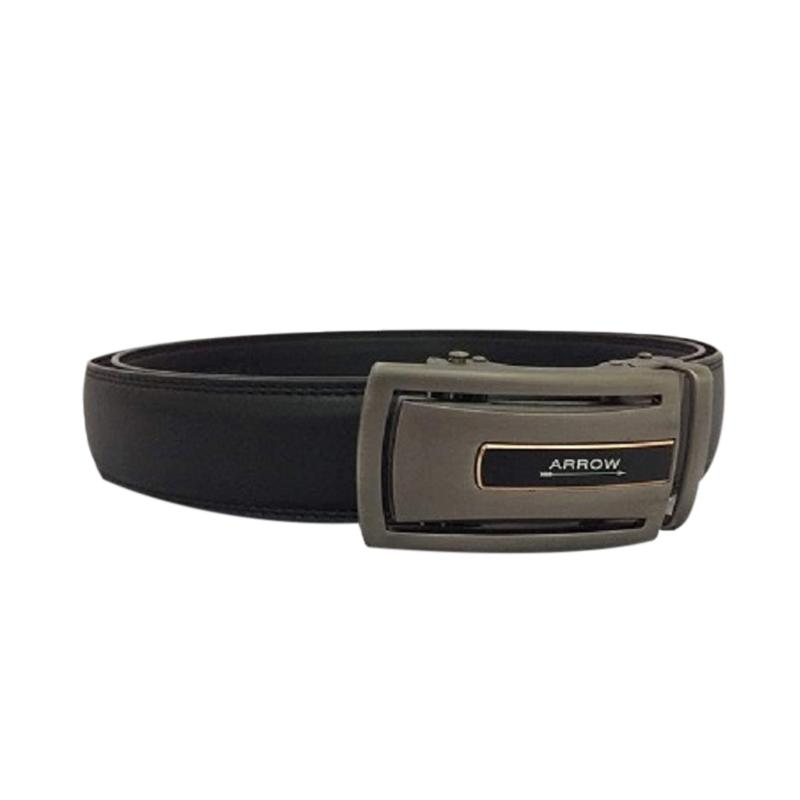 Arrow Leather Belt Ikat Pinggang Pria BP-AR2124SRA22-ZD5-586 - Black