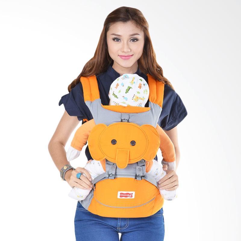 Dialogue Baby Cute Series Gajah Hipseat Baby Carrier