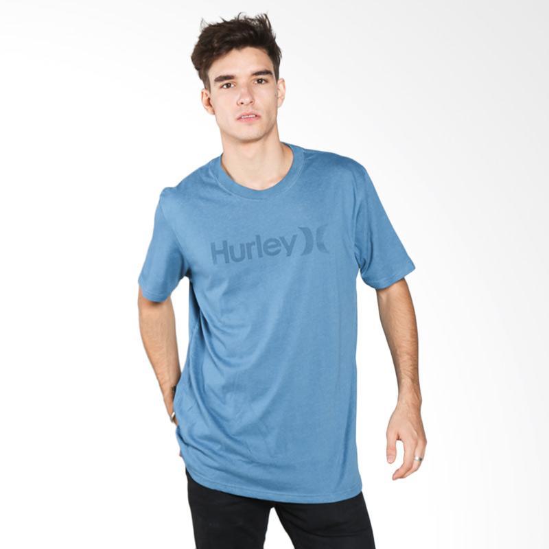 Hurley AMTSPODF-H4GD OO Man T-shirt - Heather Rift Blue Extra diskon 7% setiap hari Citibank – lebih hemat 10% Extra diskon 5% setiap hari