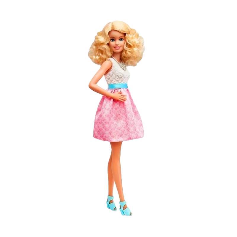 harga Barbie Fashionistas #14 Powder Pink Original Item Doll (30cm) Blibli.com