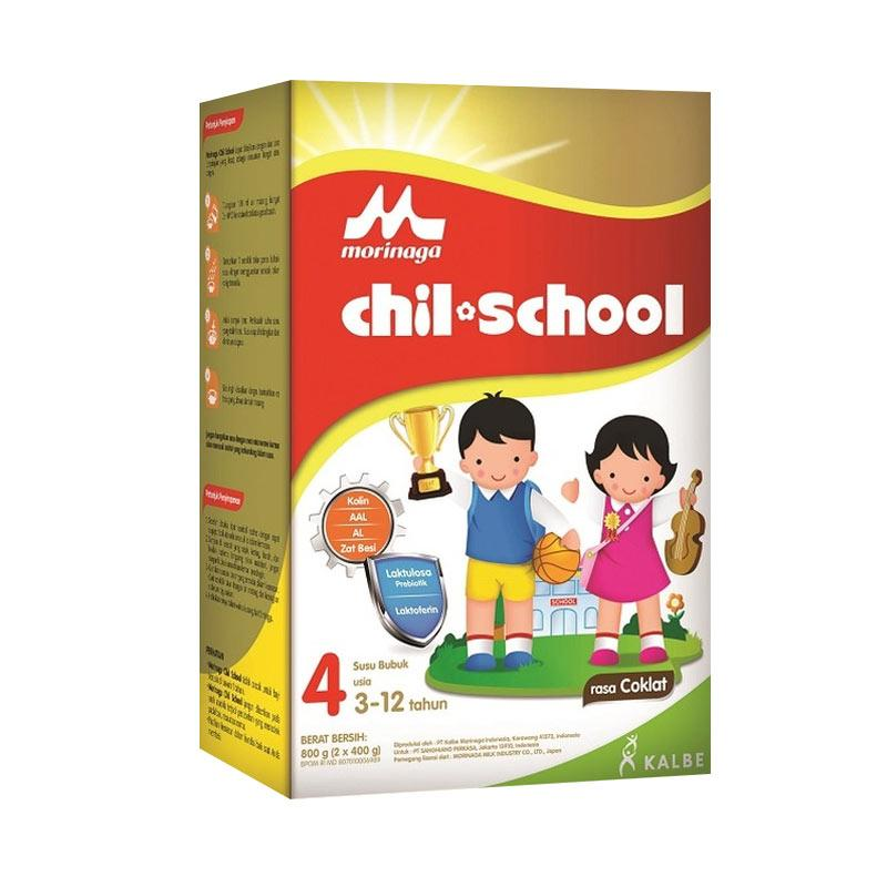 Morinaga Chil School Reguler Coklat Susu Formula [800 g]