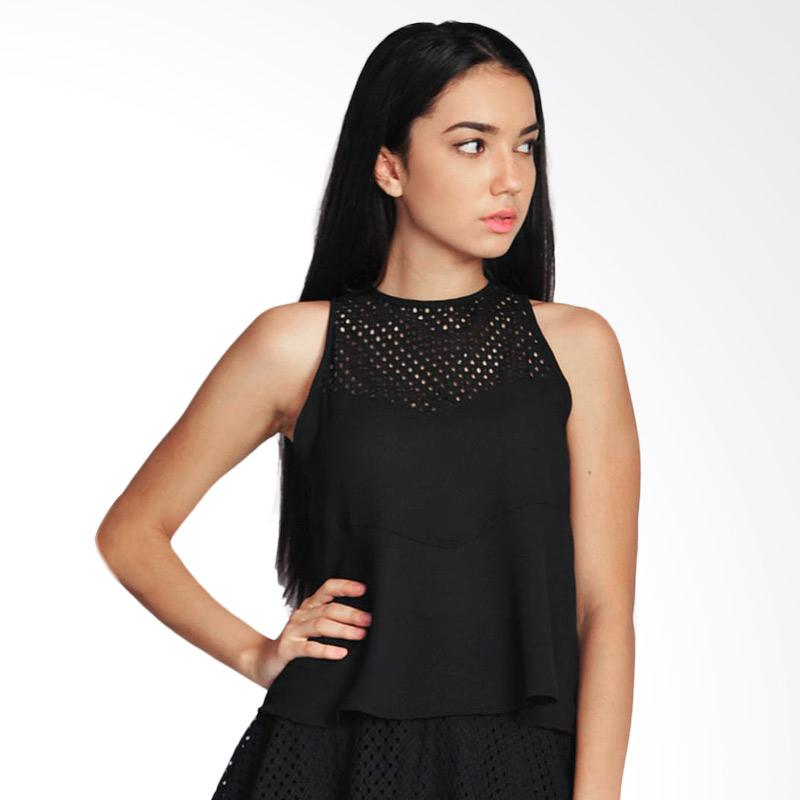 SJO & Simpaply Squarter Women's Blouse - Black