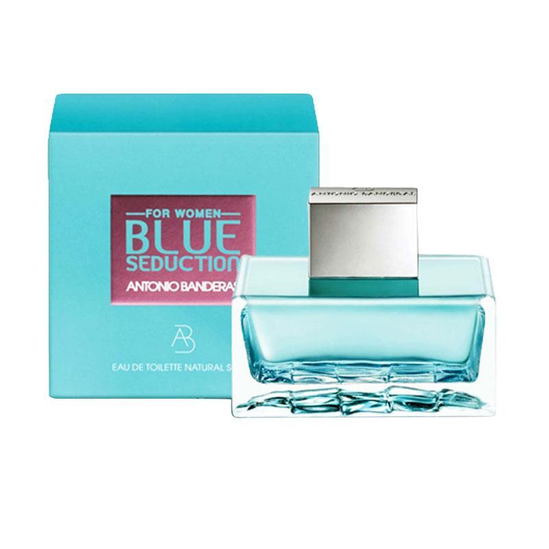 Antonio Banderas Blue Seduction EDT Parfum Wanita [100 mL] Ori Tester Non Box
