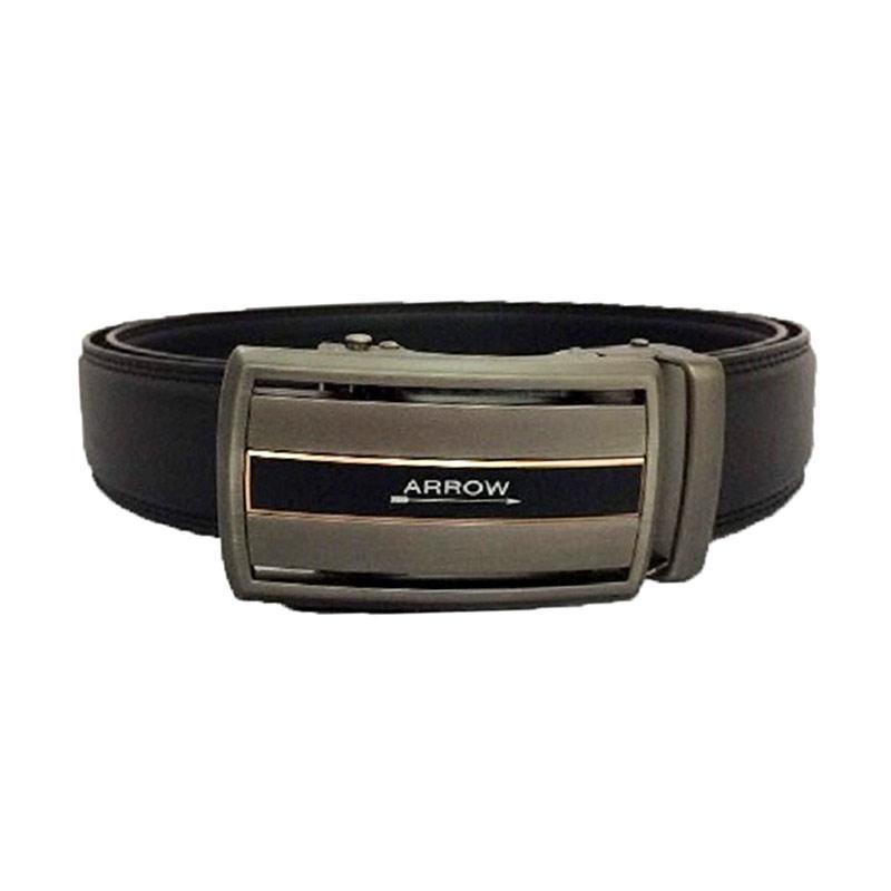 Arrow BP-AR2124SRA22-ZD5-587 Leather Belt Ikat Pinggang Pria - Black