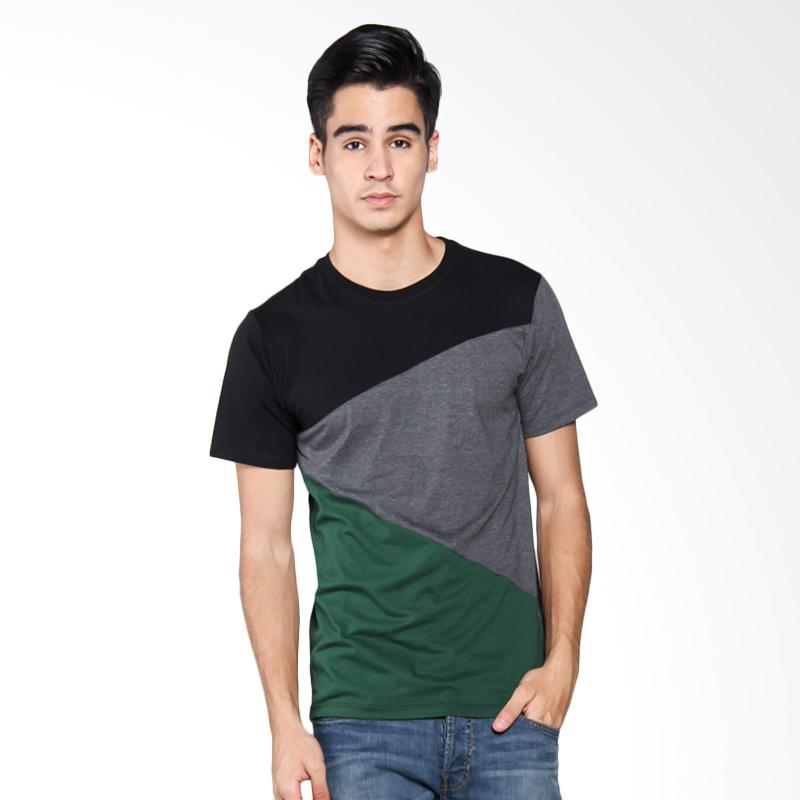 Bafash Short Sleeve Casual T-shirt 3 Collor T-Shirt Pria