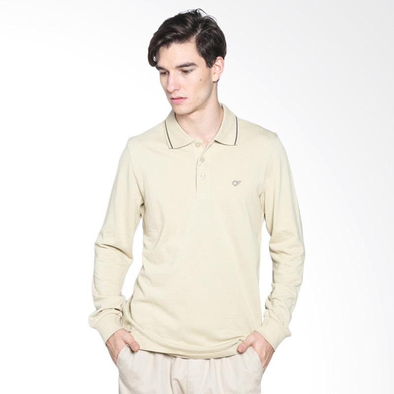 Country Fiesta 01NSM11545 Mens Polo Albany - Khaki