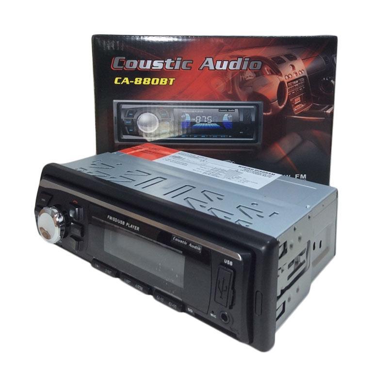 harga Coustic Audio CA880 Tape untuk Mobil [MP3/Radio/Bluetooth] Blibli.com