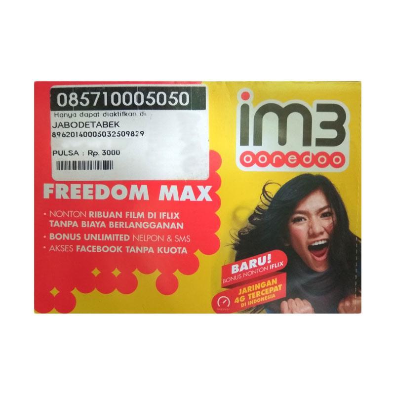 Indosat IM3 Nomor Super Cantik 0857 1000 5050 Kartu Perdana [4G LTE]