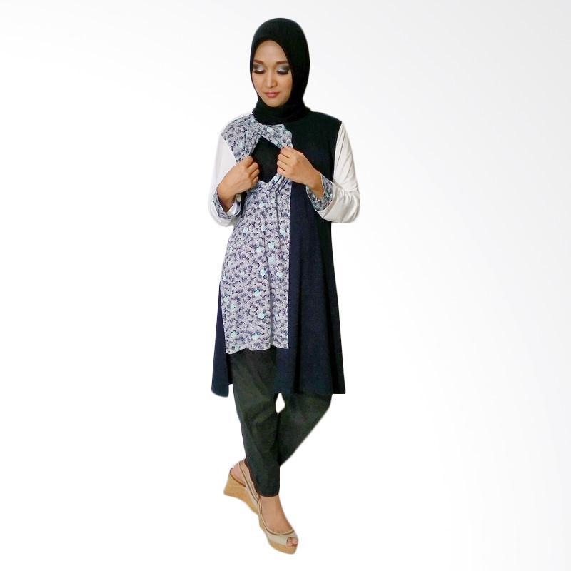 harga Just Mom Ivanna Motif Kerang Baju Menyusui - Navy Blibli.com
