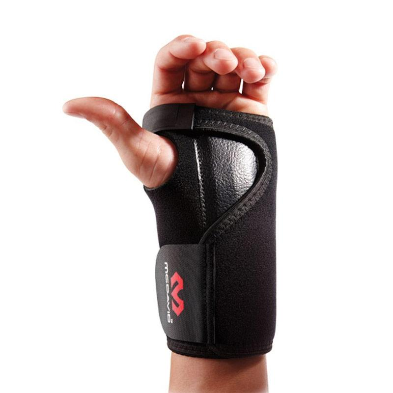 McDavid 454 Adjustable Wrist Brace Alat Pelindung - Black [Left]