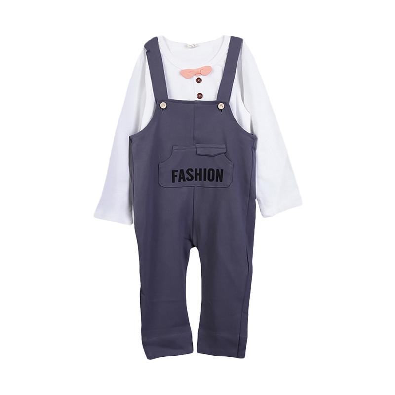 Chloebaby Shop F949 Fashion Wearpack Setelan Anak - Navy