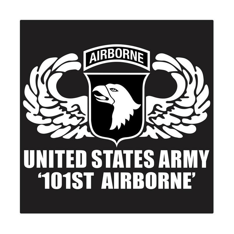 Kyle United States Army 101st Airborne Wing Cutting Sticker