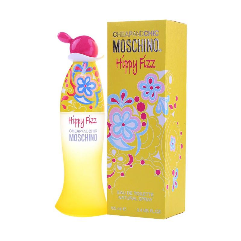 Moschino Cheap & Chic Hippy Fizz EDT Parfum Wanita [100 mL]