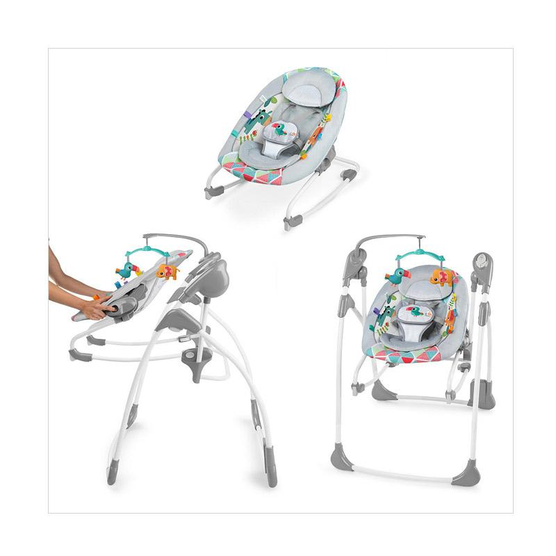 Brightstarts Toucan Tango Rocker & Swing 2 in 1