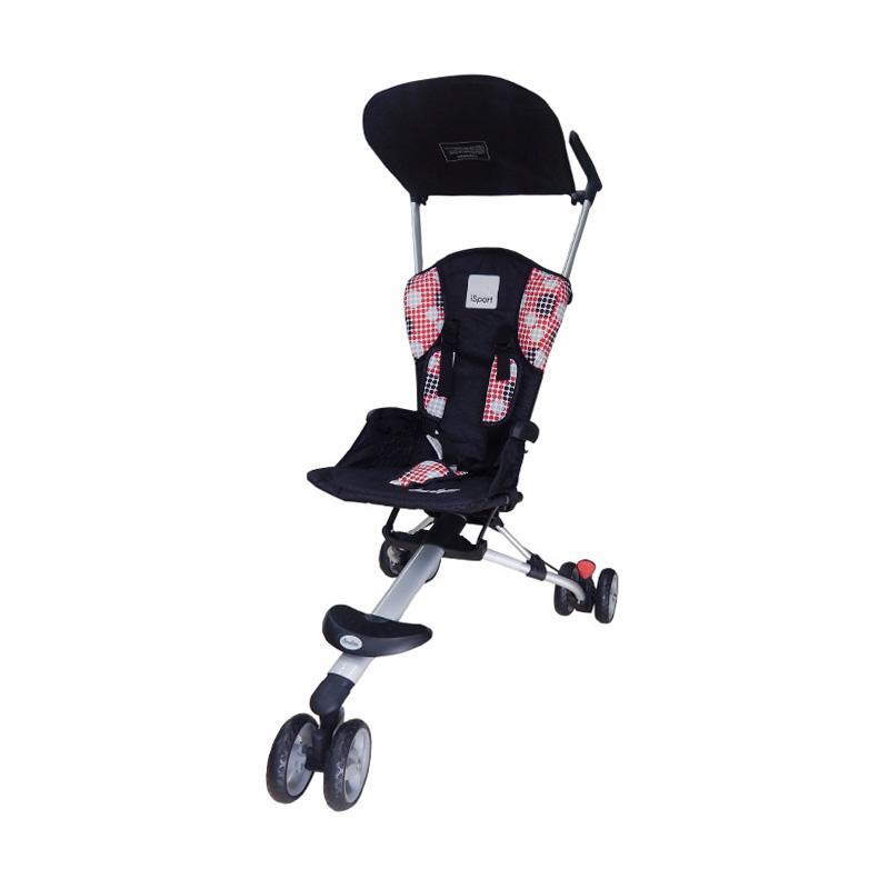 harga Cocolatte Isport Stroller Traveling - Black Polka Blibli.com
