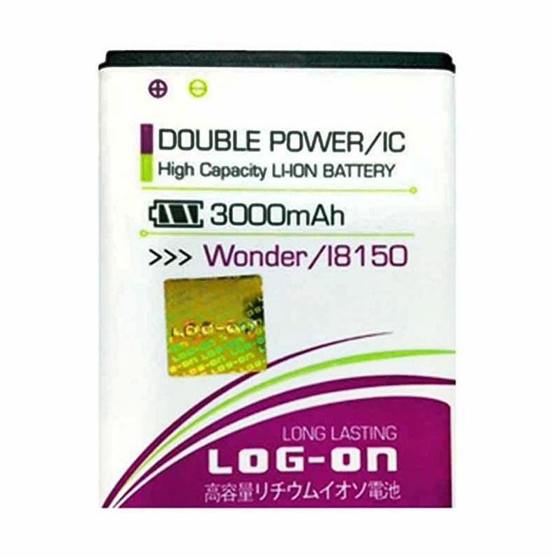 Log On Double Power Battery for Samsung Wonder i8160 [3000 mAh]