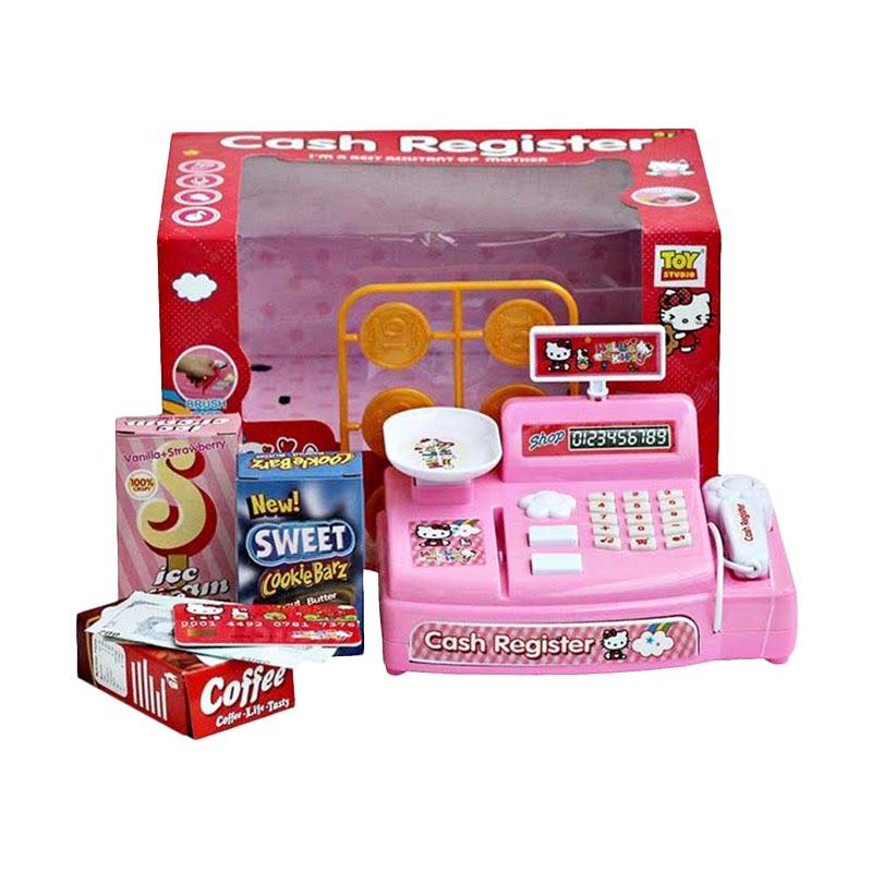 Jual Cash Register Hello Kitty With Shopping Cart Mainan Anak Online Oktober 2020 Blibli Com