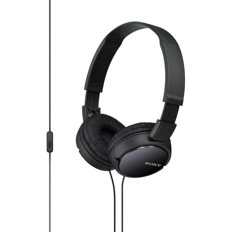 harga SONY MDR-ZX110AP Headphone - Black Blibli.com