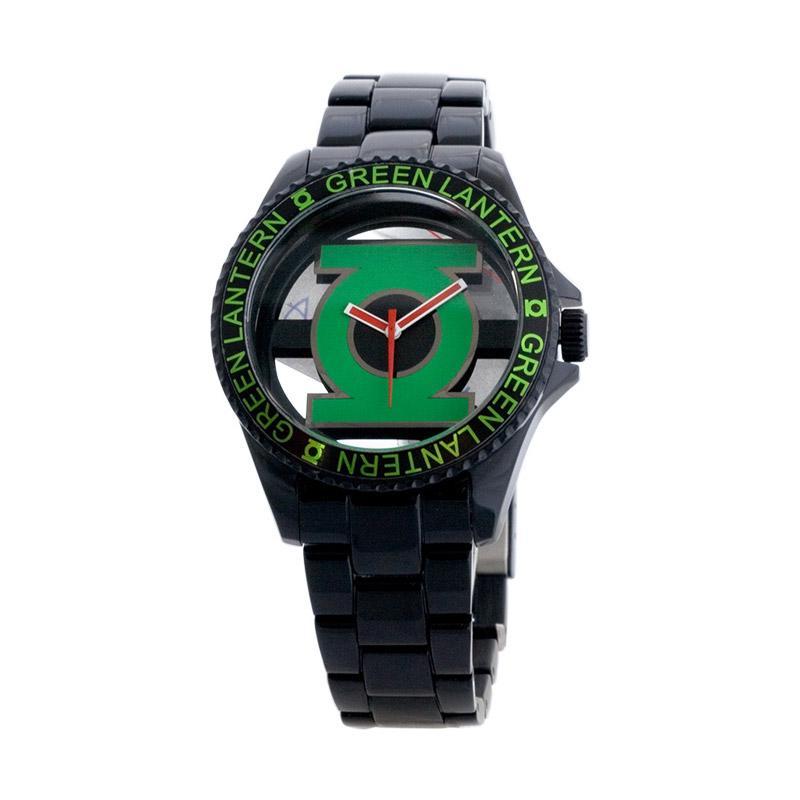 DC Comics DCFR1095-03A Superheroes Green Lantern Jam Tangan Pria - Black