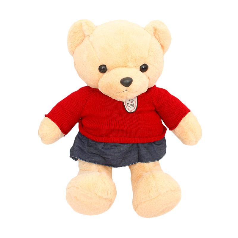 harga Istana Kado Sweater Jeans Teddy Bear Girl Boneka IKO00664 [23 Inch] Blibli.com