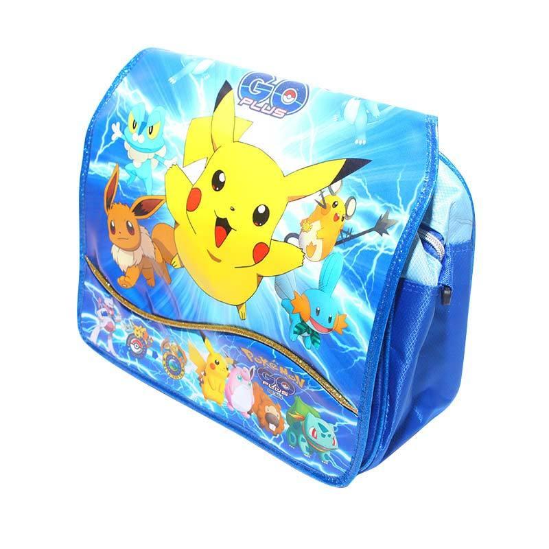 Istana Kado Pokemon Pikachu S IKO00719 Tas sekolah - Biru