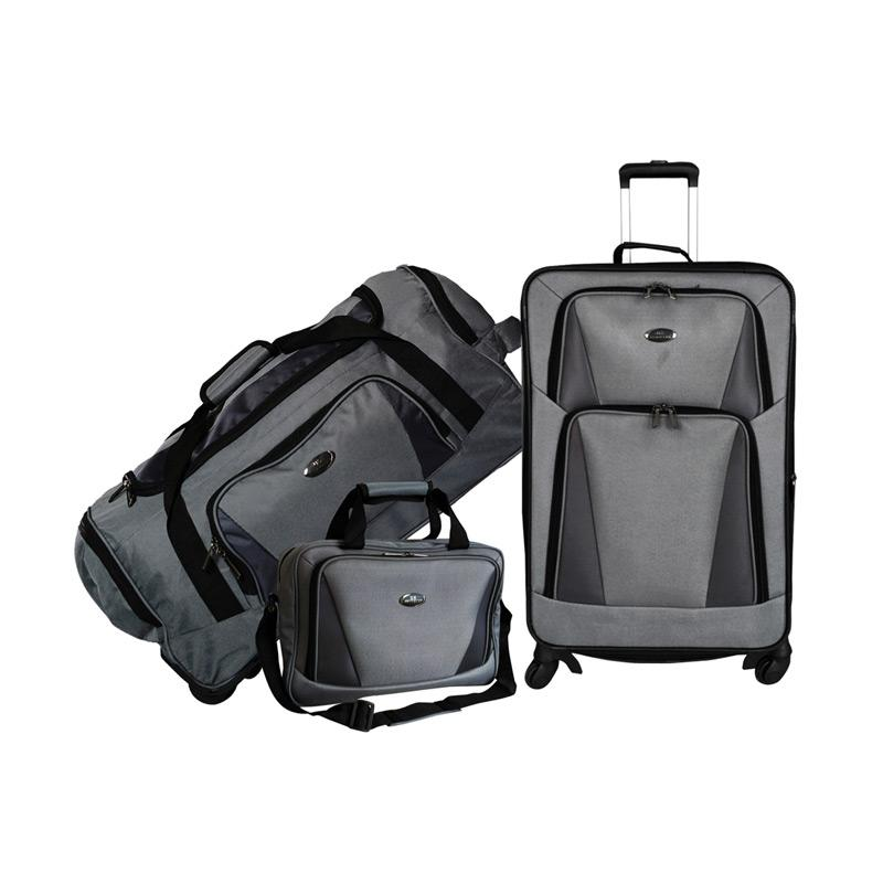 Traveler's Choice Bradford Set 3in1 Koper - Grey