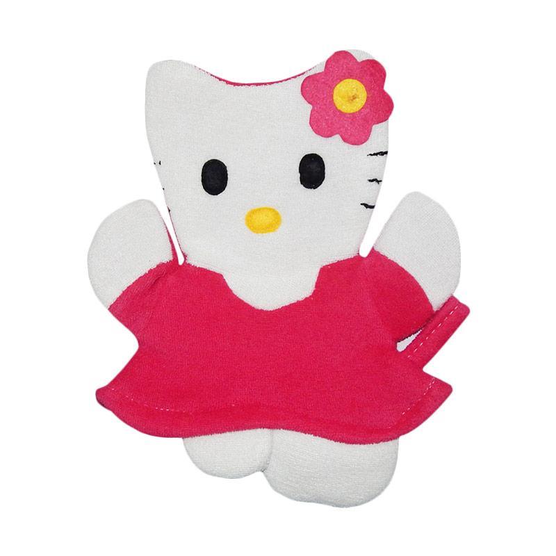 Wonderland Washlap Karakter Hello Kitty - Fuschia