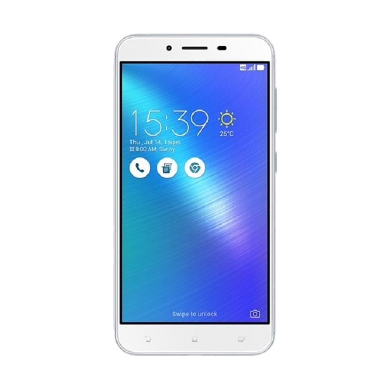Asus ZenFone 3 Max ZC553KL Smartphone - Glacier Silver [32 GB/3 GB] - 9285067 , 15442702 , 337_15442702 , 3099000 , Asus-ZenFone-3-Max-ZC553KL-Smartphone-Glacier-Silver-32-GB-3-GB-337_15442702 , blibli.com , Asus ZenFone 3 Max ZC553KL Smartphone - Glacier Silver [32 GB/3 GB]