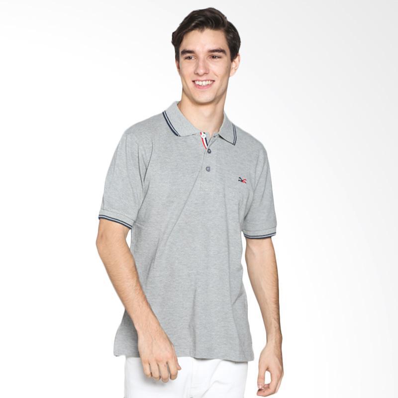 Carvil Men 12.FRA.712.5G/ FRANCIS-712 Polo Shirt Pria - Light Misty Extra diskon 7% setiap hari Extra diskon 5% setiap hari Citibank – lebih hemat 10%