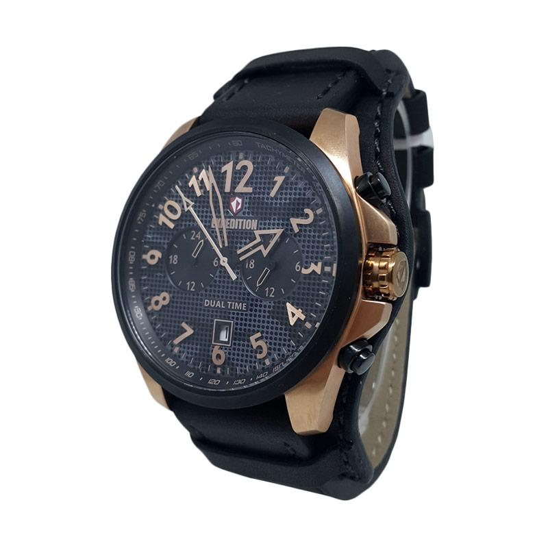 Expedition Analog Jam Tangan Pria - Rose Gold Hitam 140737