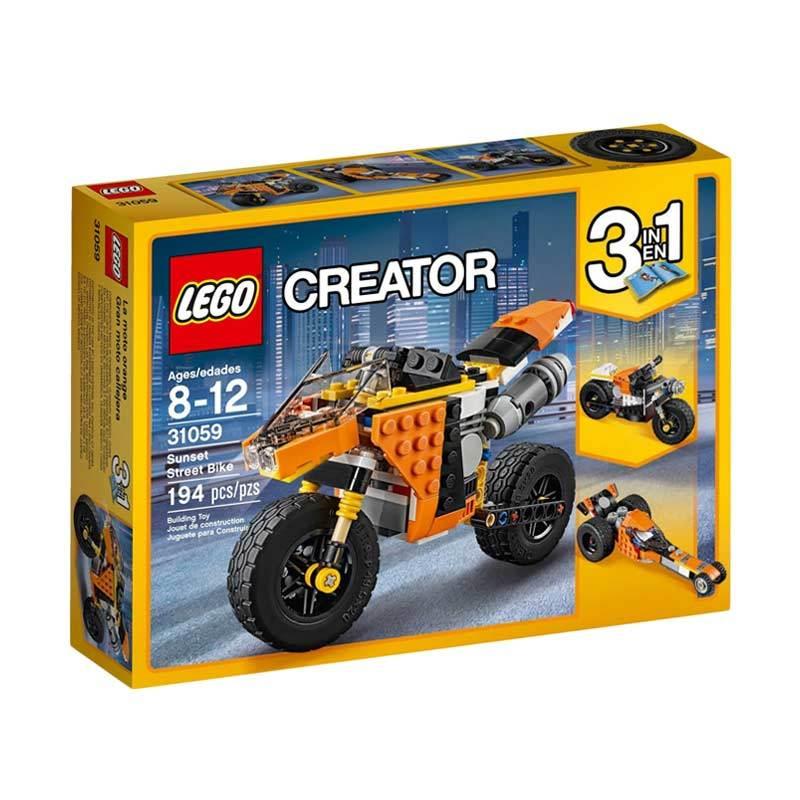 Lego Creator 31059 Sunset Street Bike Blocks Stacking Toys