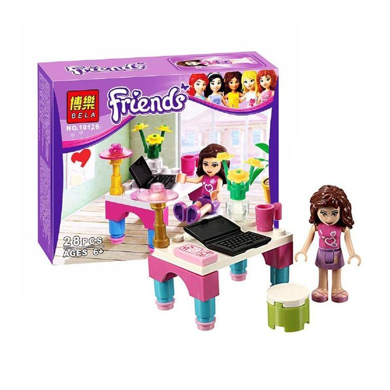 Bela Exclusive Friends Olivia Edition Mainan Blok & Puzzle