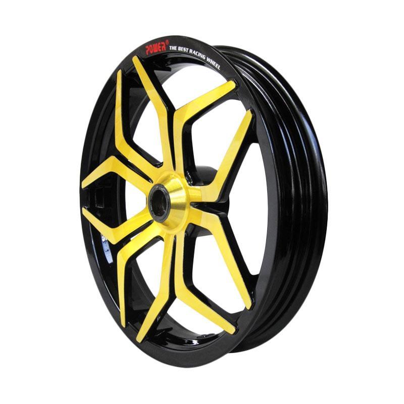 harga POWER Star R 14 Inch Set Velg Motor for Vario 125 - Black Gold Blibli.com