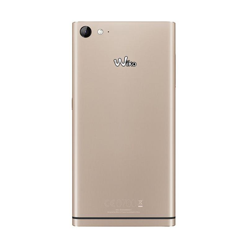 Wiko Highway Star Smartphone - Gold [16 GB/2 GB] + Free SP Indosat