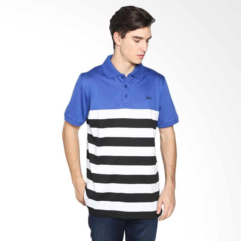 Carvil Men 19.SAM.002.74/ SAM-02 Polo Shirt Pria - Stripe Kombinasi Extra diskon 7% setiap hari Extra diskon 5% setiap hari Citibank – lebih hemat 10%