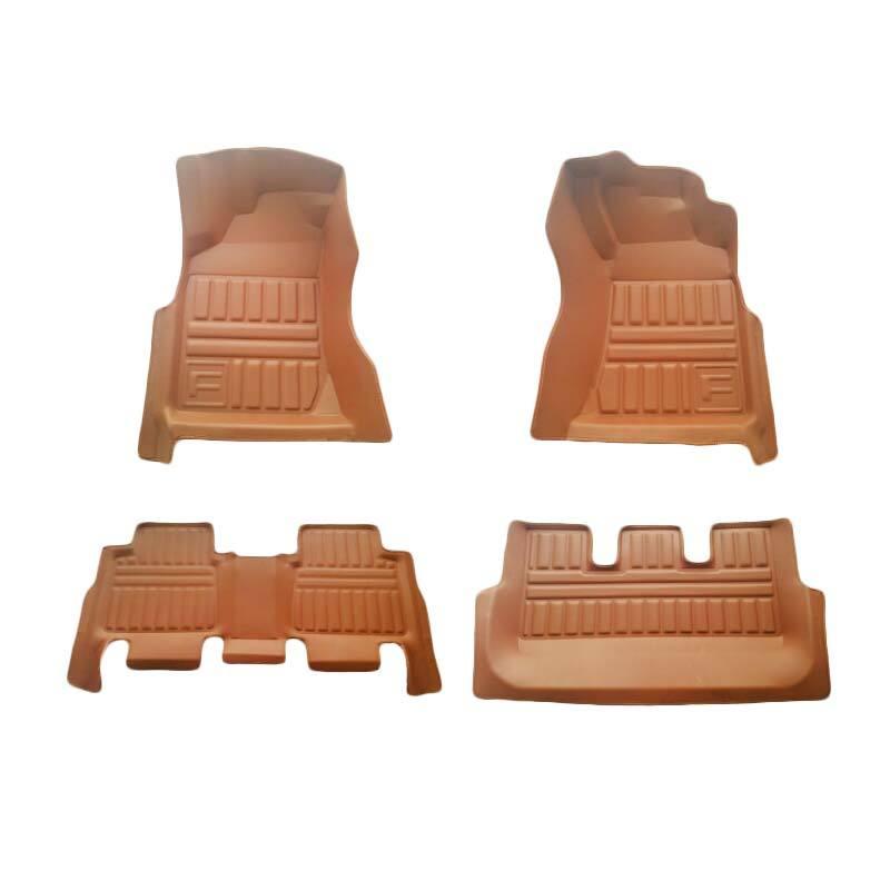 Frontier Karpet Mobil Set untuk Toyota Fortuner - Coklat