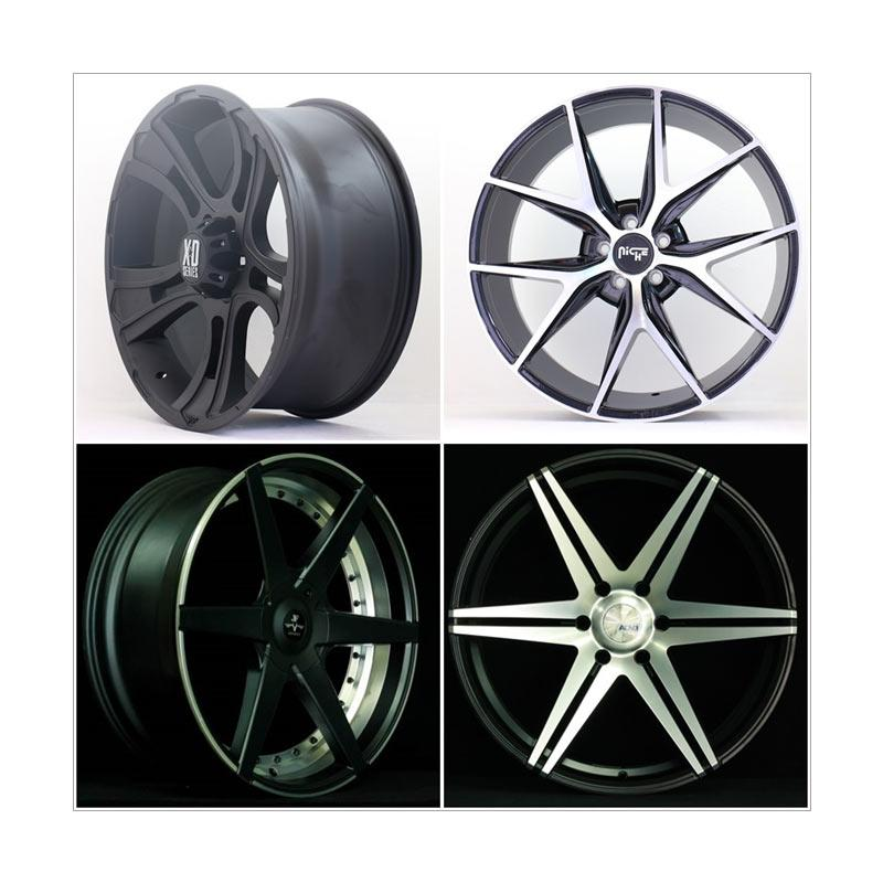 harga HSR Wheel Set with Tyres Z22250 Ring 22 Velg + Ban Mobil [Pasang Di TKB Group] Blibli.com