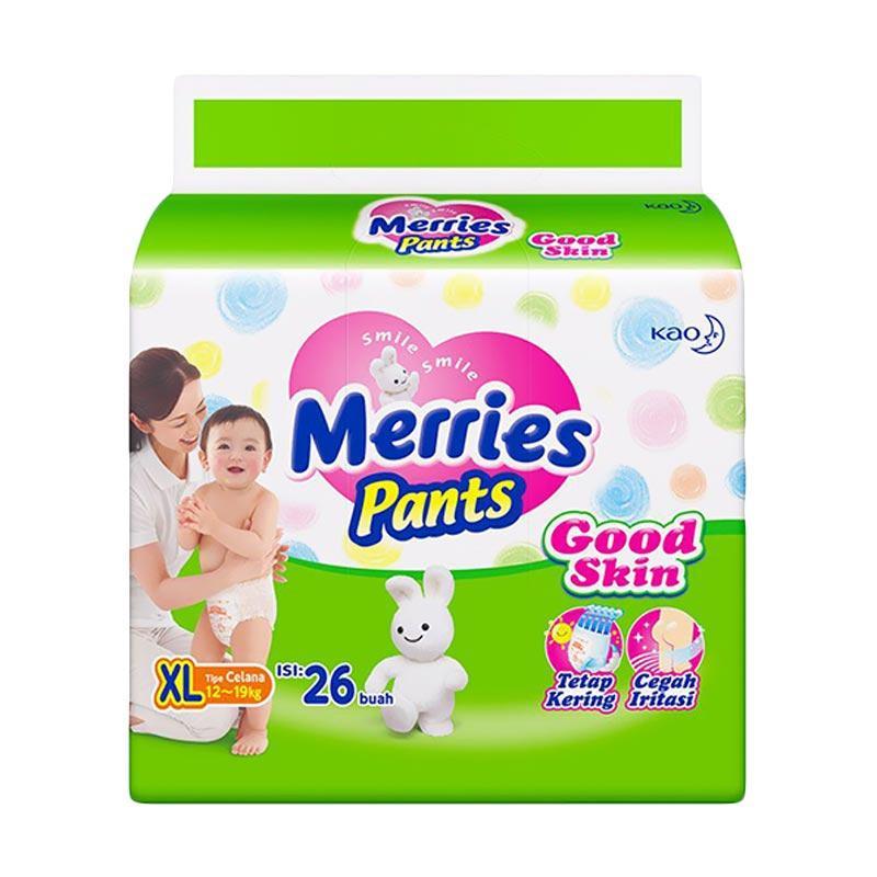 Merries Good Skin Popok Bayi Tipe Celana [Size XL/26 pcs]
