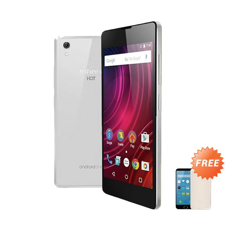 Ultrathin Casing for Infinix Hot 2 - Clear + Free Ultra thin